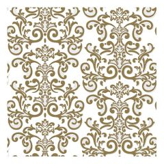 Dining Collection Lunch Napkins - Gold Damask - 20 ct.