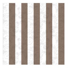 Dining Collection Lunch Napkins - Stripes of Copper - 20 ct.