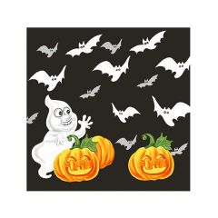Halloween Cocktail Napkins - Ghost & Bats - 20 ct.