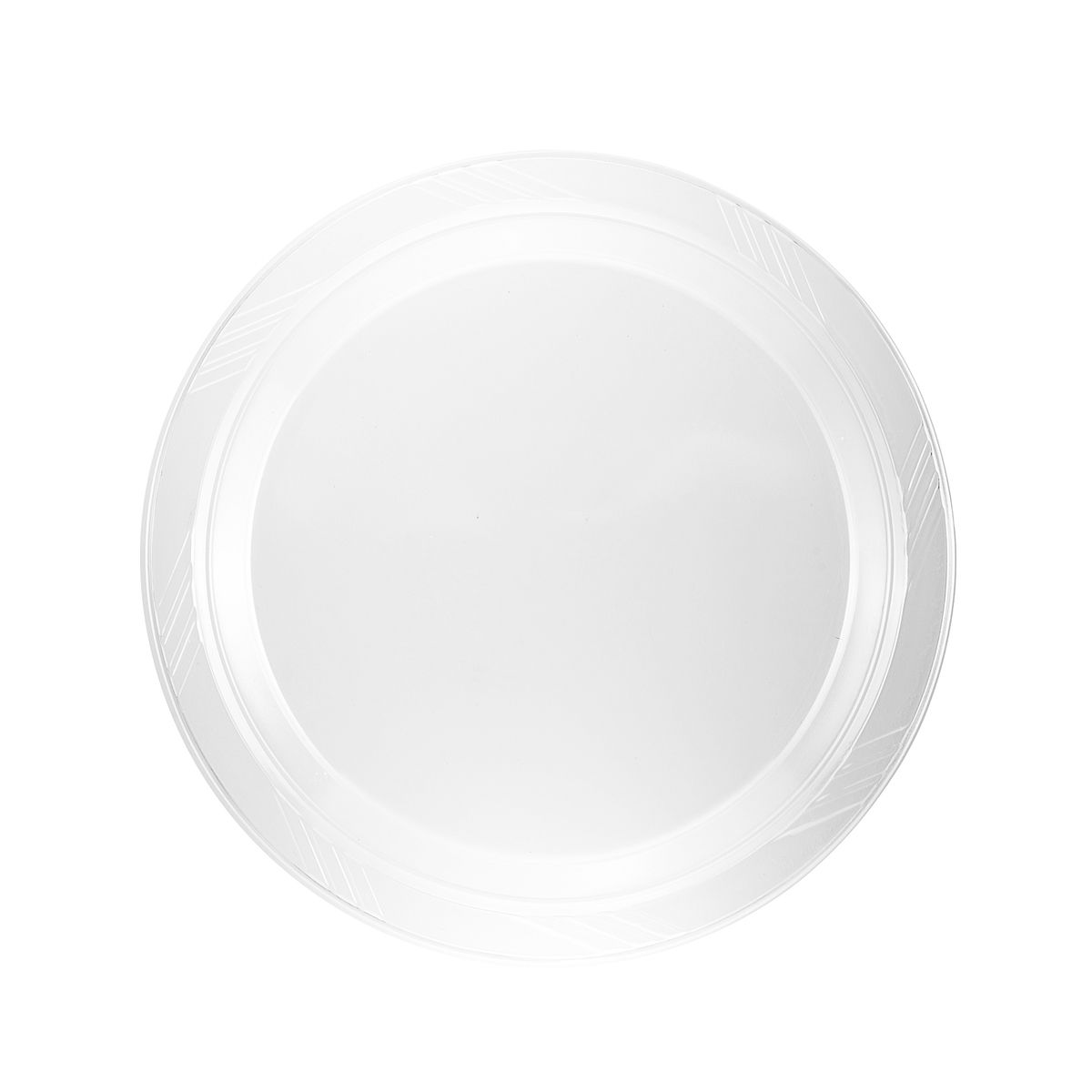 ... Plastico 6  Plates - Clear Plastic - 40 Count  sc 1 st  Fantastic Inc & Plastico 6