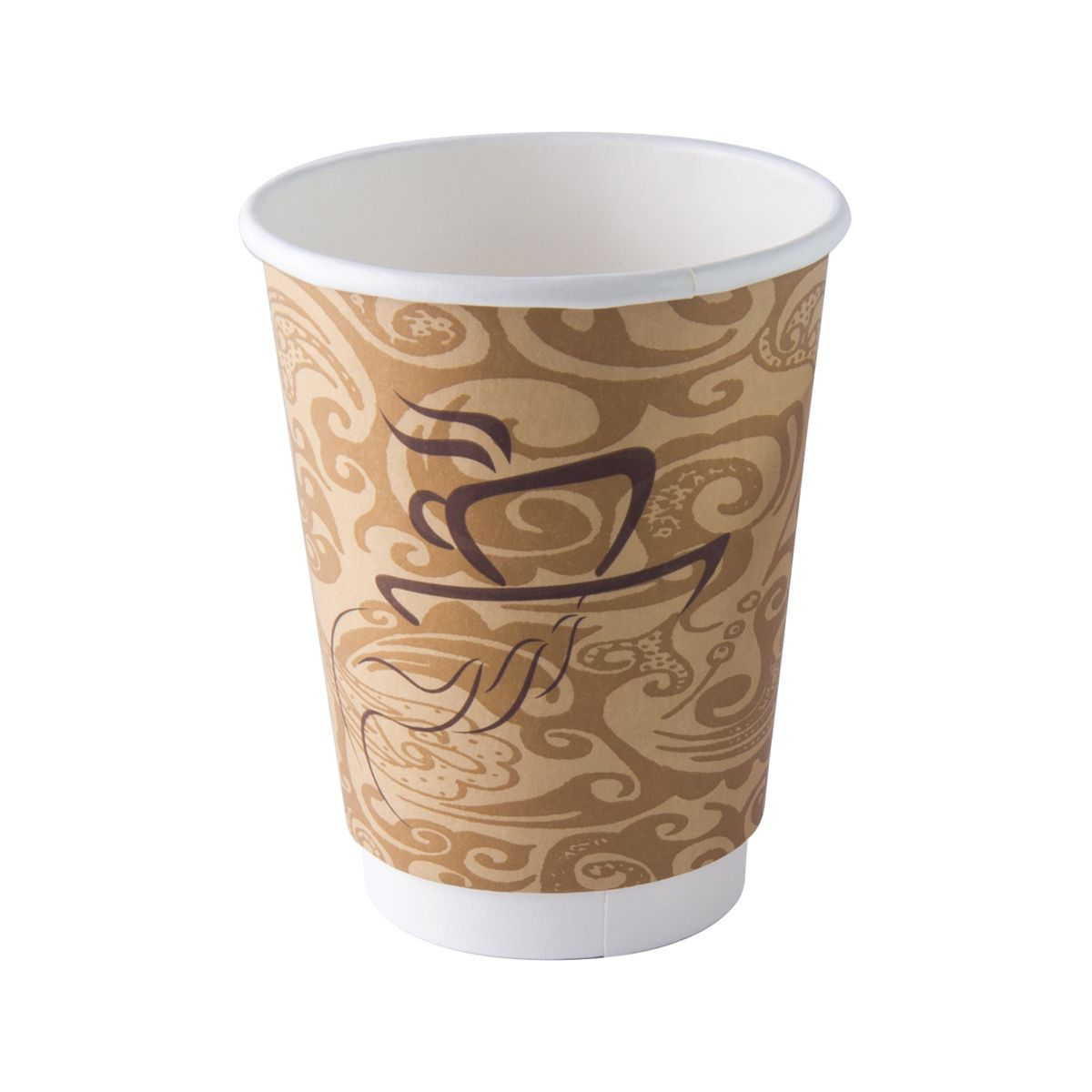 Dining Collection 12 oz. Hot Paper Coffee Cups w/o Lids ...