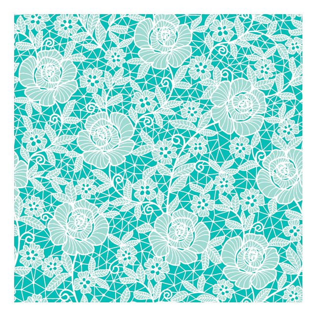 Dining Collection Lunch Napkins - Blue Beauty - 20 ct.